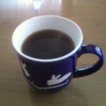 森のコーヒーとたち吉うさぎマグ